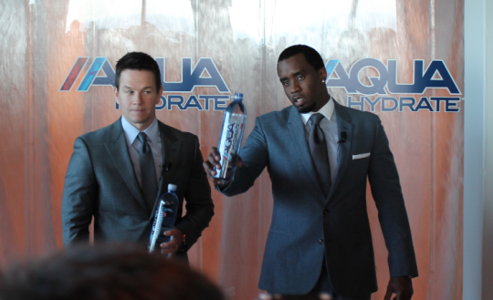 Diddy and Mark Wahlberg – AQUAHydrate