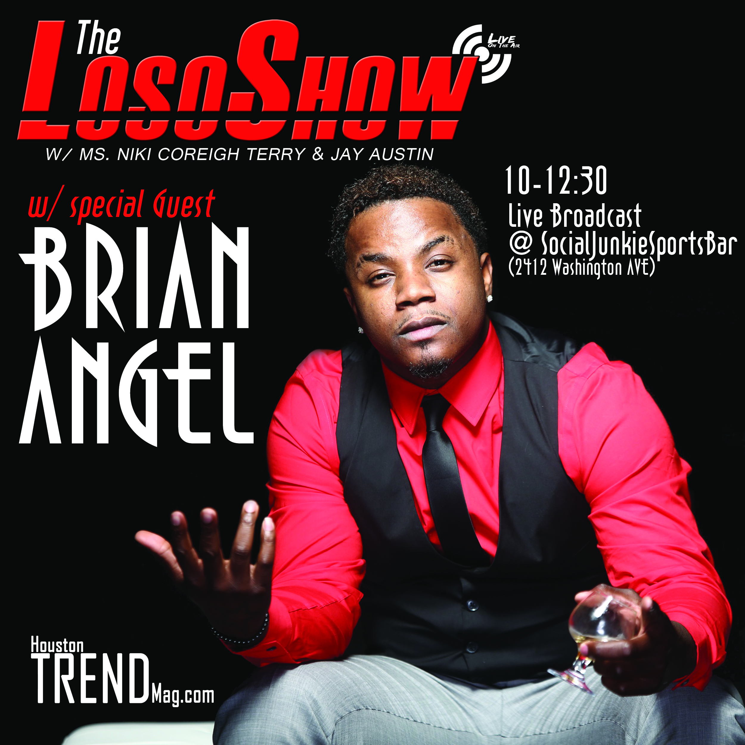 TheLosoShow July 29 Brian Angel